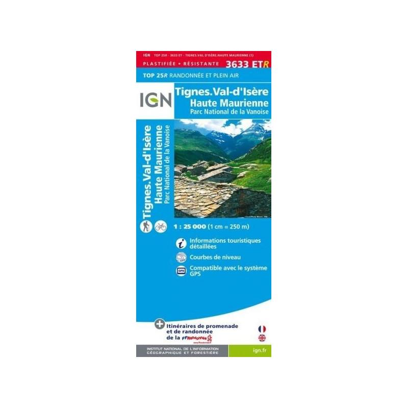 Tignes, Val d'Isère - IGN 3633 ETR