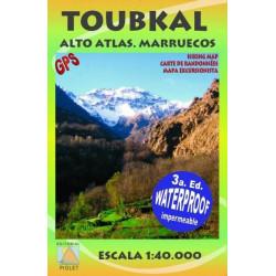 Toubkal Alto Atlas Marruecos - Editorial Piolet