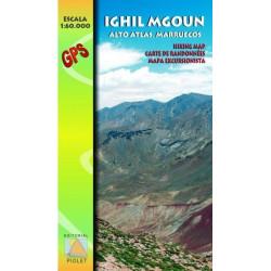 Ighil Mgoun, Alto Atlas. Marruecos - Editorial Piolet