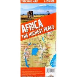 Les plus hauts sommets d'Afrique(Kilimanjaro, Mont Kenya, Rwenzori)- Express Map