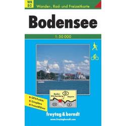Carte randonnées Bodensee - Freytag 2