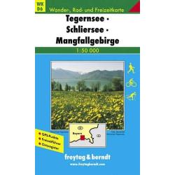 Achat Carte randonnées Tegernsee, Schliersee Freytag 6