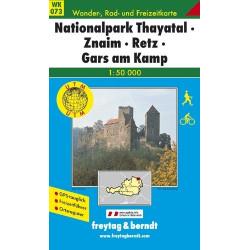 Carte randonnées National Park Thayatal, Znaim, Retz  Freytag 073