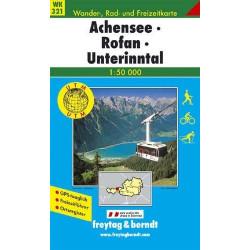 Carte randonnées Achensee-Rofan-Unterinntal Freytag 321