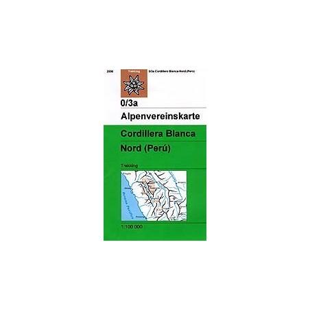 Achat Carte randonnées Cordillera Blanca, Nord (Perú) - Alpenverein