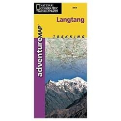 Achat Carte randonnées Langtang - National Géographic