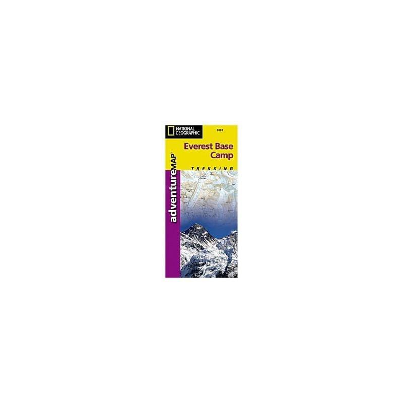 Achat Carte randonnées Everest Base Camp - National Géographic
