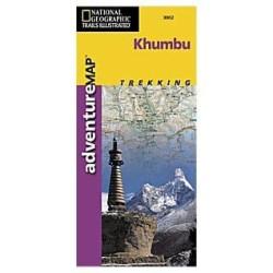 Achat Carte randonnées Khumbu - National Geographic