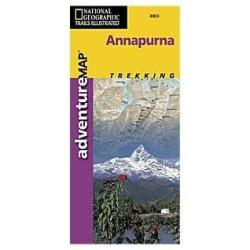 Achat Carte randonnées  Annapurna - National Géographic