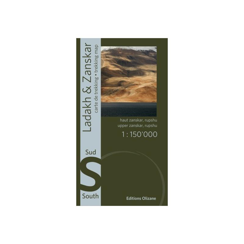 Achat Carte randonnées Ladakh, Zanskar Sud - éditions Olizane