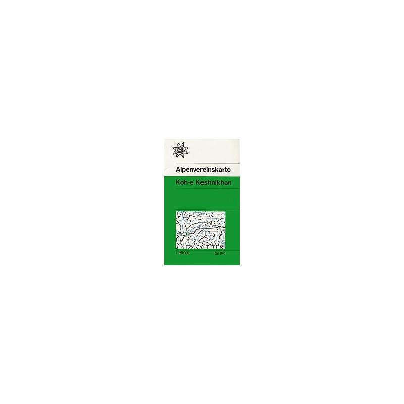 Achat Carte randonnées Koh-e Keshnikhan (Afghanistan) - Alpenverein