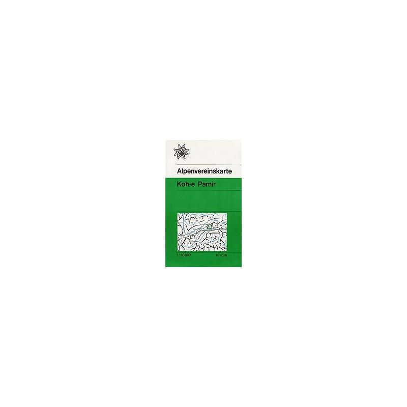 Achat Carte randonnées Koh-e Pamir (Afghanistan) - Alpenverein