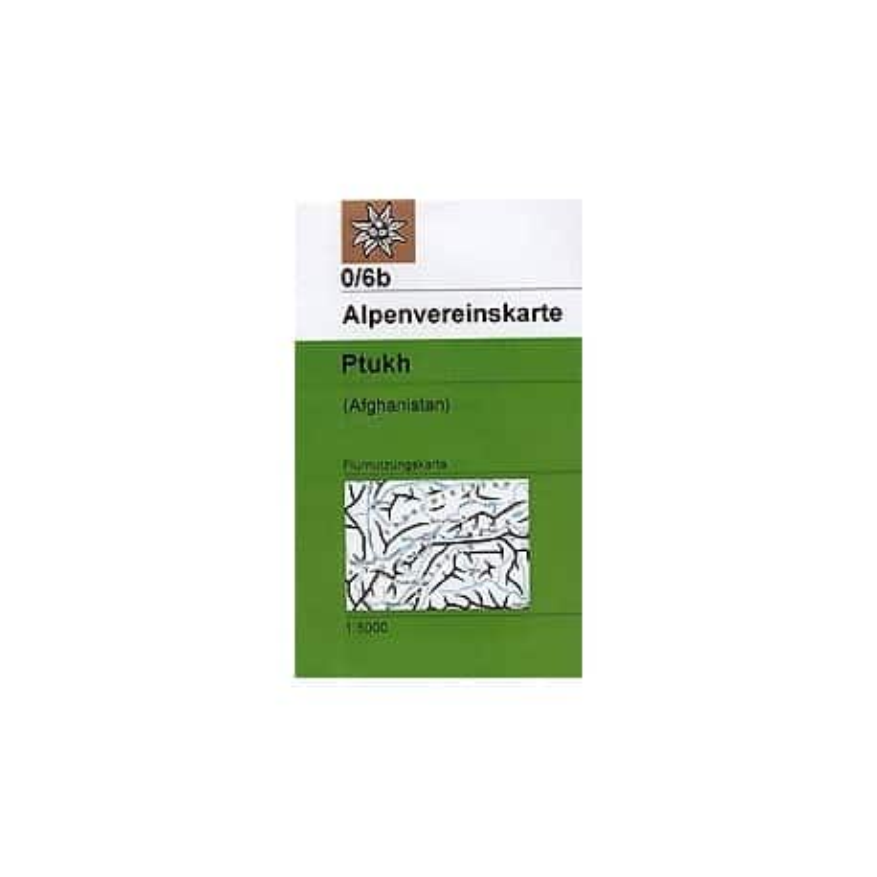 Achat Carte randonnées Ptukh (Afghanistan) - Alpenverein