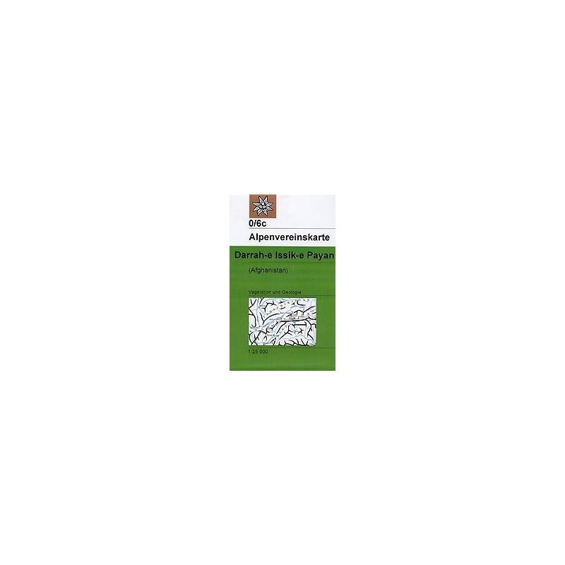 Achat Carte randonnées Darrah-e Issik-e Payan (Afghanistan) - Alpenverein