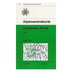 Achat Carte randonnées Langthang Himal, West - Alpenverein