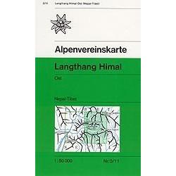 Achat Carte randonnées Langthang Himal, Ost - Alpenverein