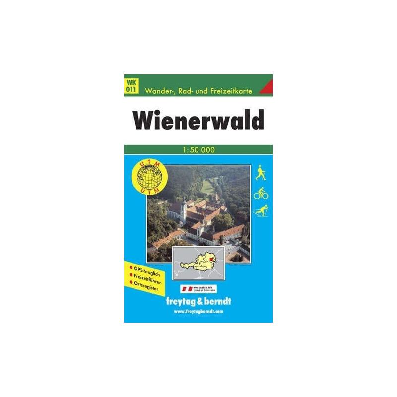Achat Carte randonnées Wienerwald - Freytag 011