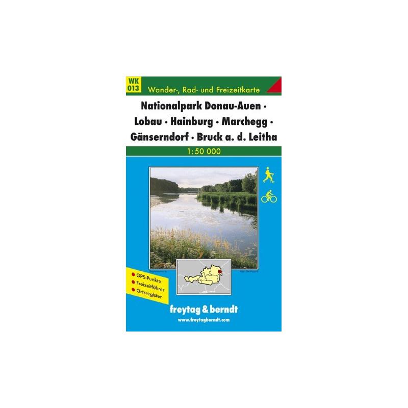 Achat Carte randonnées Nationalpark Donau-Auen-Lobau Leitha - Freytag 013