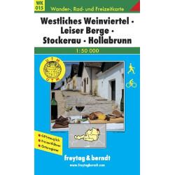 Carte randonnées Westliches Weinviertel, Leiser Berge - Freytag 015