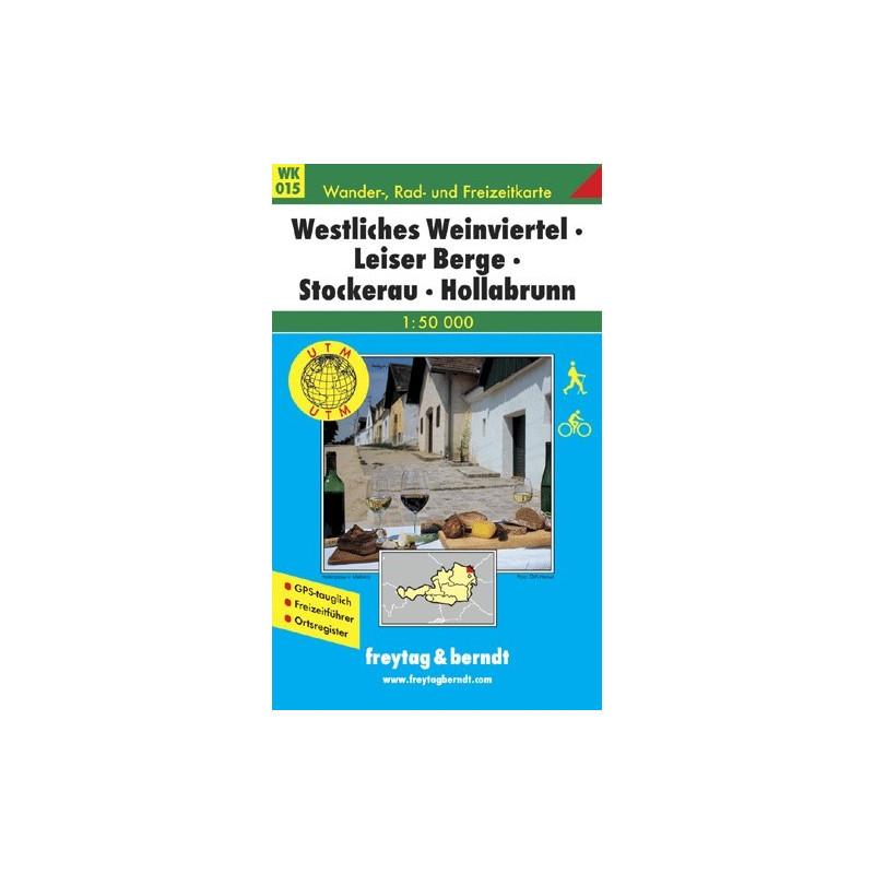 Achat Carte randonnées Westliches Weinviertel, Leiser Berge - Freytag 015