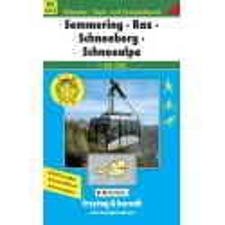 Achat Carte randonnées Semmerin, Rax, Schneeberg, Schneealpe - Freytag 022