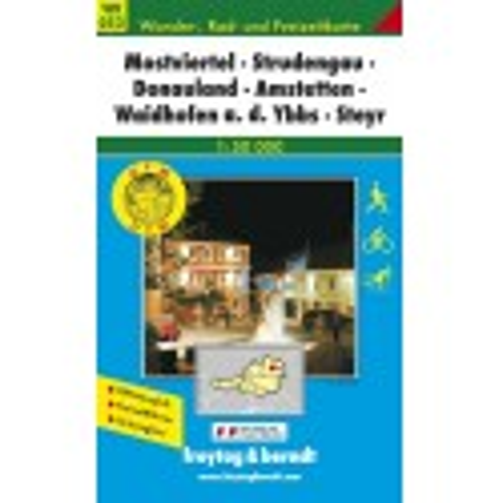 Achat Carte randonnées Mostviertel, Strudengau, Donauland- Freytag 052