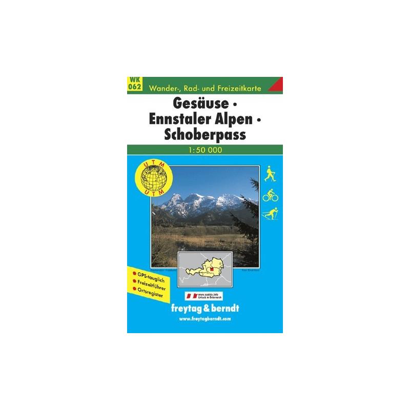 Achat Carte randonnées Gesäuse, Ennstaler Alpen - Freytag 062