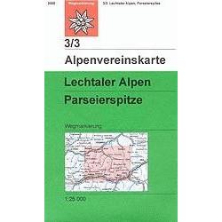 Achat Carte randonnées Lechtaler Alpen, Parseierspitze - Alpenverein 03/3
