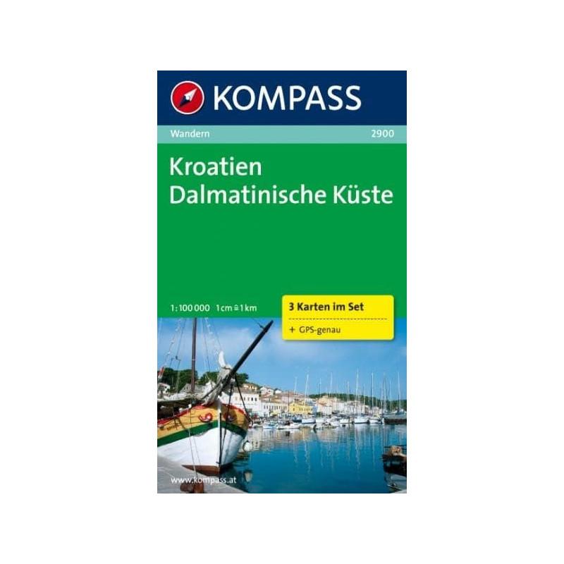 Achat Carte randonnées Kroatien Dalmatinische Küste, Croatie
