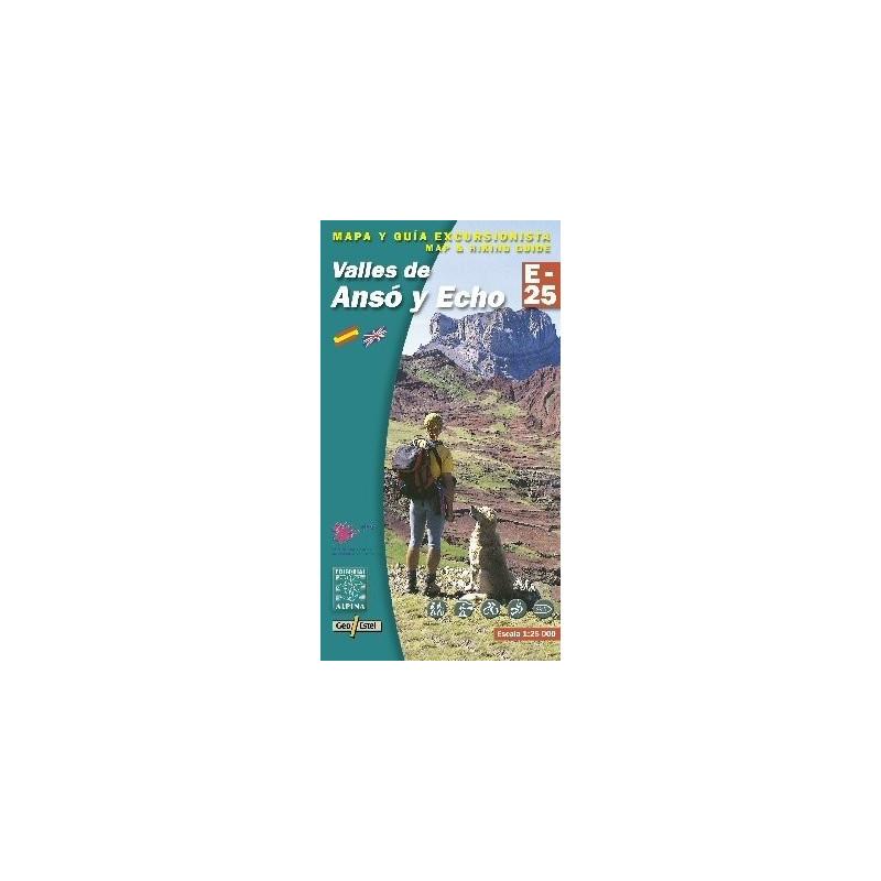 Achat Cartes randonnées Valles de Anso y Echo - Alpina