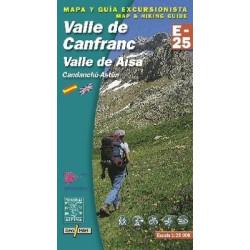 Achat Cartes randonnées Canfranc - Alpina