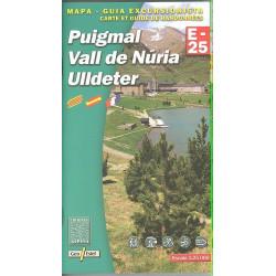 Achat Cartes randonnées Puigmal, Vall de Nuria, Ulldeter - Alpina