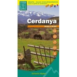 Achat Cartes randonnées Cerdagne, Cerdanya - Alpina