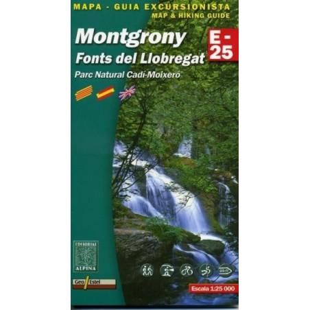 Achat Cartes randonnées Montgrony, Font de Llobregat, PN Cadi-Moixero - Alpina