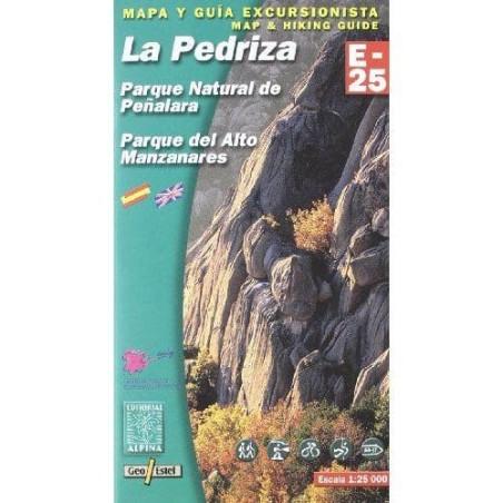 Achat Cartes randonnées La Pedriza, Parque Natural de Penalara - Alpina
