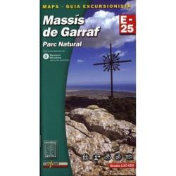 Achat Cartes randonnées Massis de Garraf - Alpina