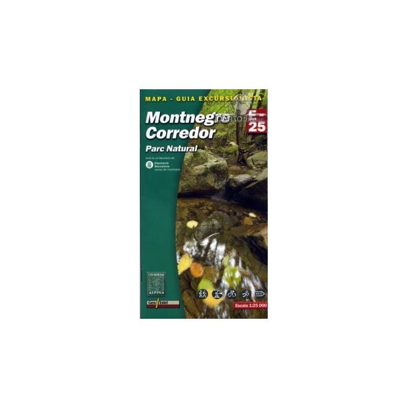 Achat Cartes randonnées Montnegre, Corredor - Alpina