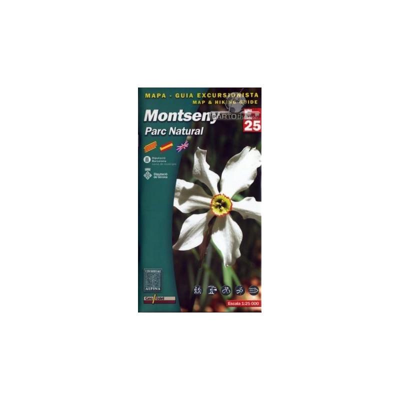 Achat Cartes randonnées Montseny - Alpina
