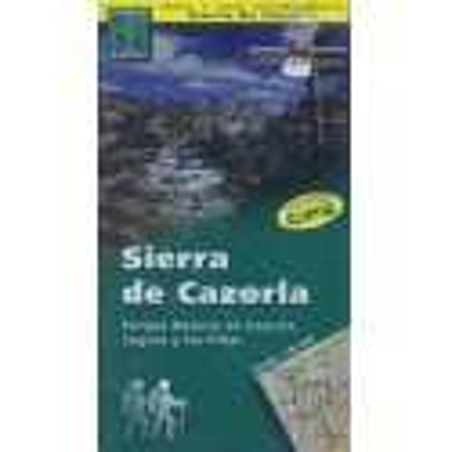 Achat Cartes randonnées Sierra de Cazorla - Alpina