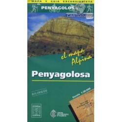 Achat Cartes randonnées Penyagolosa - Alpina