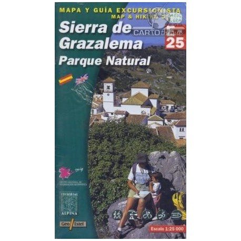 Achat Cartes randonnées Sierra de Grazalema - Alpina