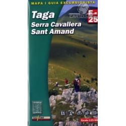 Achat Cartes randonnées Taga, Serra Cavallera, Sant Amand - Alpina