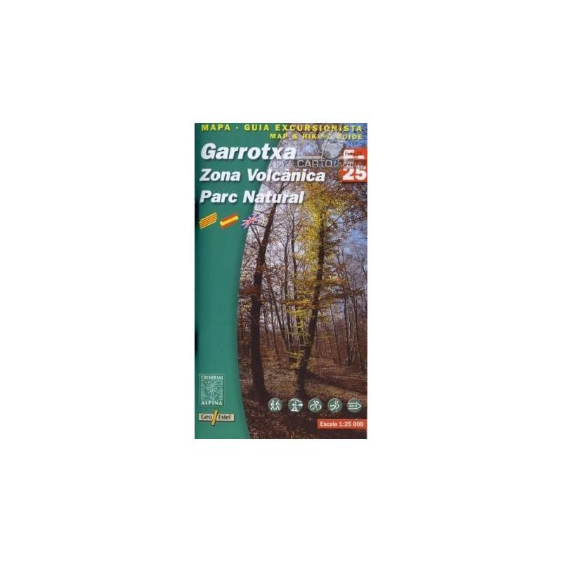 Achat Cartes randonnées Garrotxa - Alpina