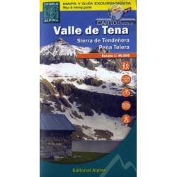 Achat Cartes randonnées Valle de Tena - Alpina