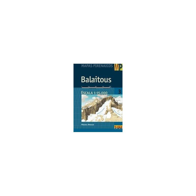 Achat Cartes randonnées Balaitous - Sua
