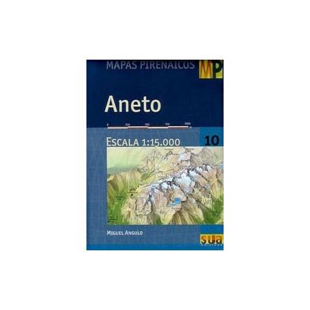 Achat Cartes randonnées Aneto - Sua