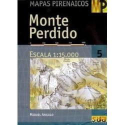 Achat Cartes randonnées Monte Perdido - Sua