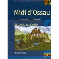 Achat Cartes randonnées Midi d'Ossau - Sua