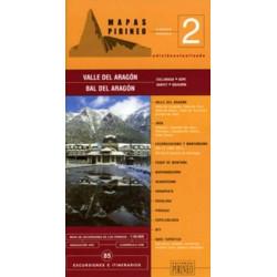 Achat Cartes randonnées Valle del Aragon - Editorial Pirineo