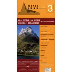 Achat Cartes randonnées Valle de Tena -  Editorial Pirineo